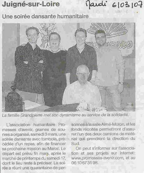 article 06 mars 2007