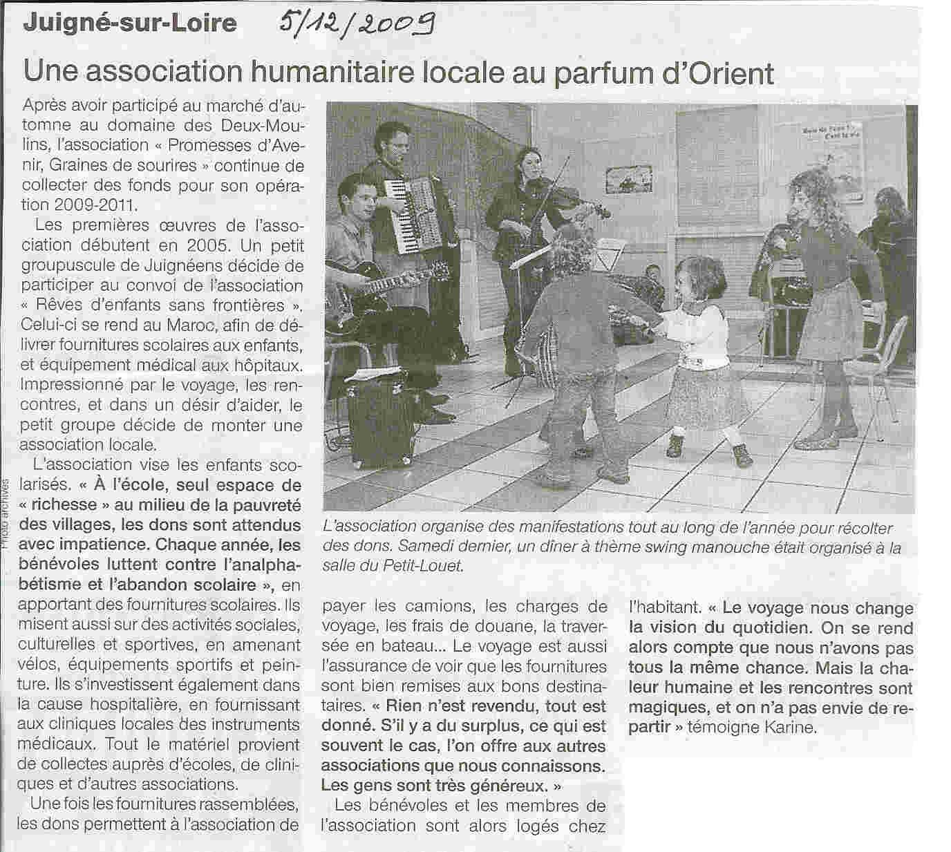 article decembre 2009