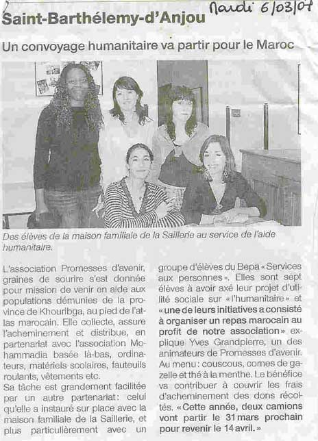 article eleve  060307
