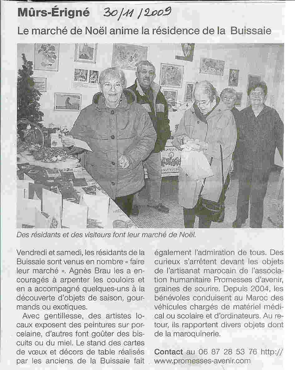 article novembre 2009