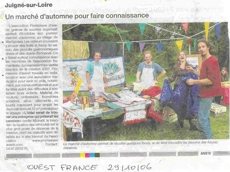 ouest_france 29 octobre 2006